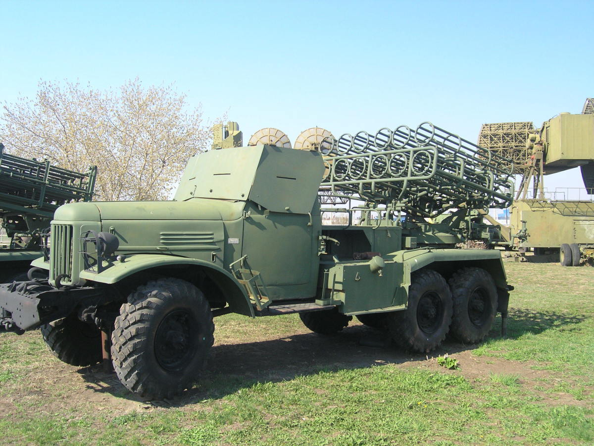 BM-24 rocket launcher: it is one of the only usable parts of Red Dragon's artillery arsenal