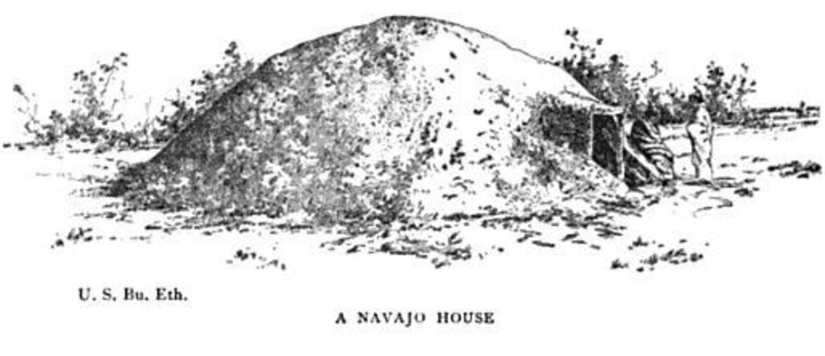 Navajo hogans more closely resembled mound construction styles found in regions outside the American southwest.