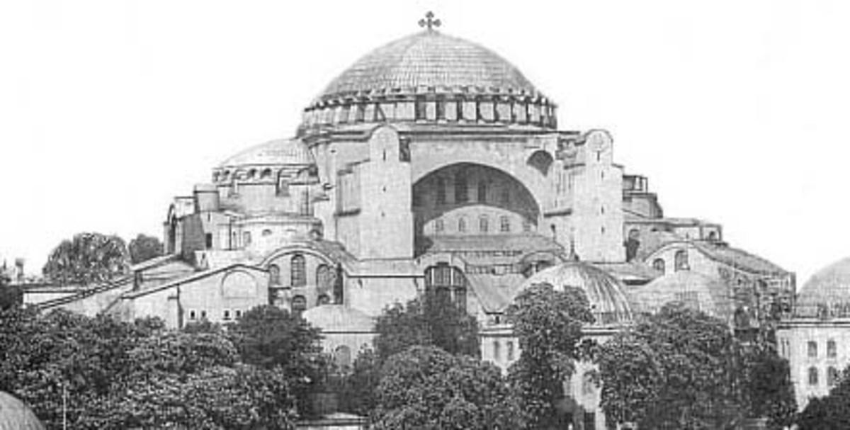 HAGIA SOFIA THE MOST BEAUTIFUL CHURCH IN CHRISTENDOM