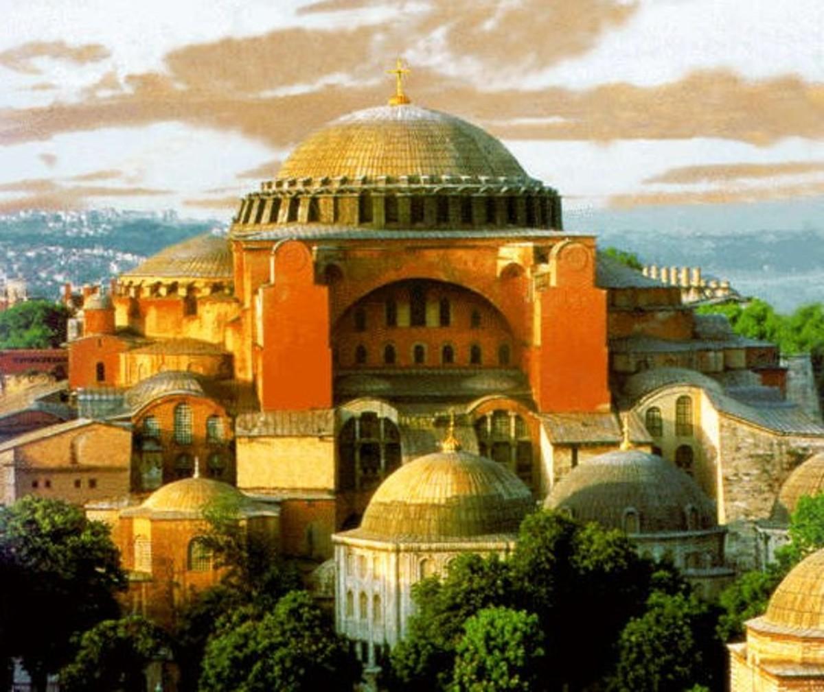 HAGIA SOPHIA CHURCH OF CONSTANTINOPLE