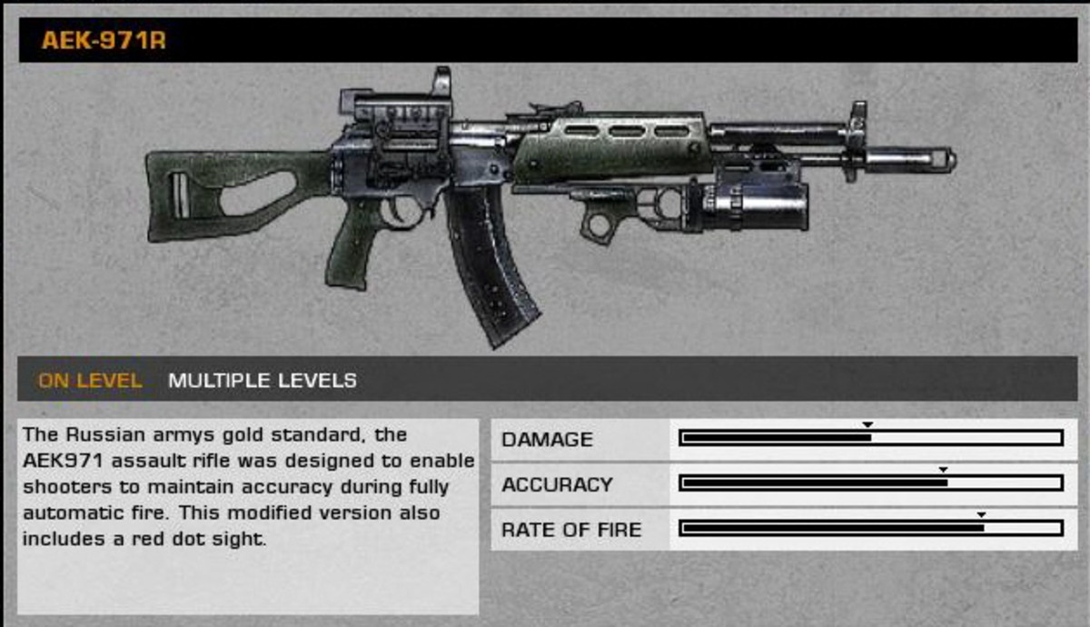 Battlefield Bad Company 2 Weapon Collectables / Collectibles Guide Part 2.
