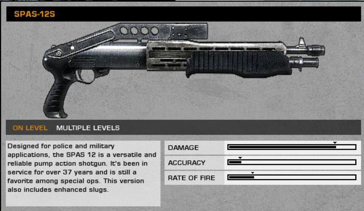 Upriver: SPAS-12S collectible / collectable.