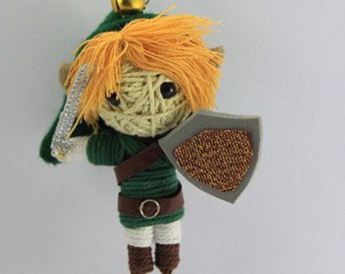 Zelda game Voodoo doll