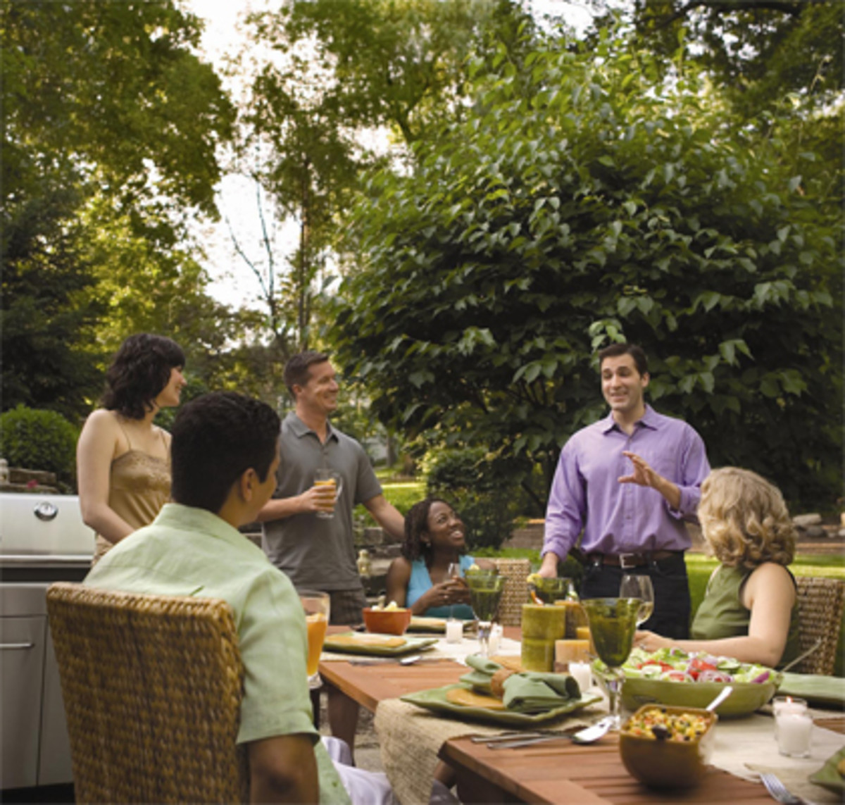 Backyard grilling has been growing for 40 years!