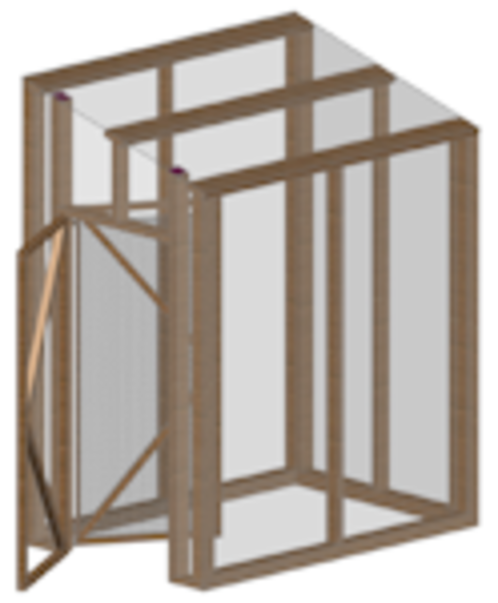 Lean To Greenhouse Frame
