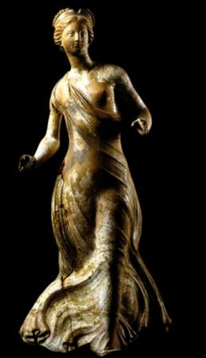 Figurine of a dancer.