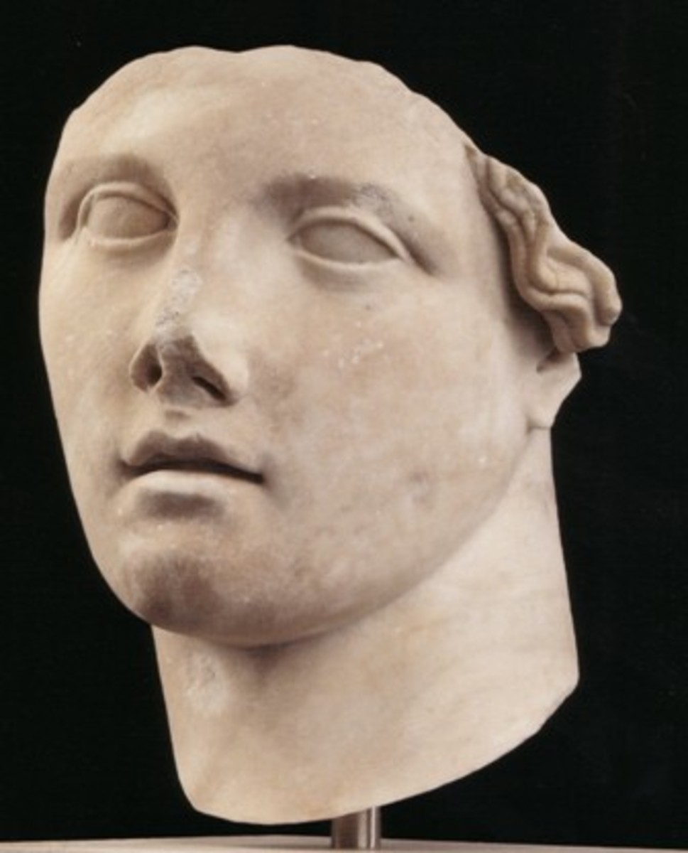 Late Hellenistic period (perhaps Aphrodite?)