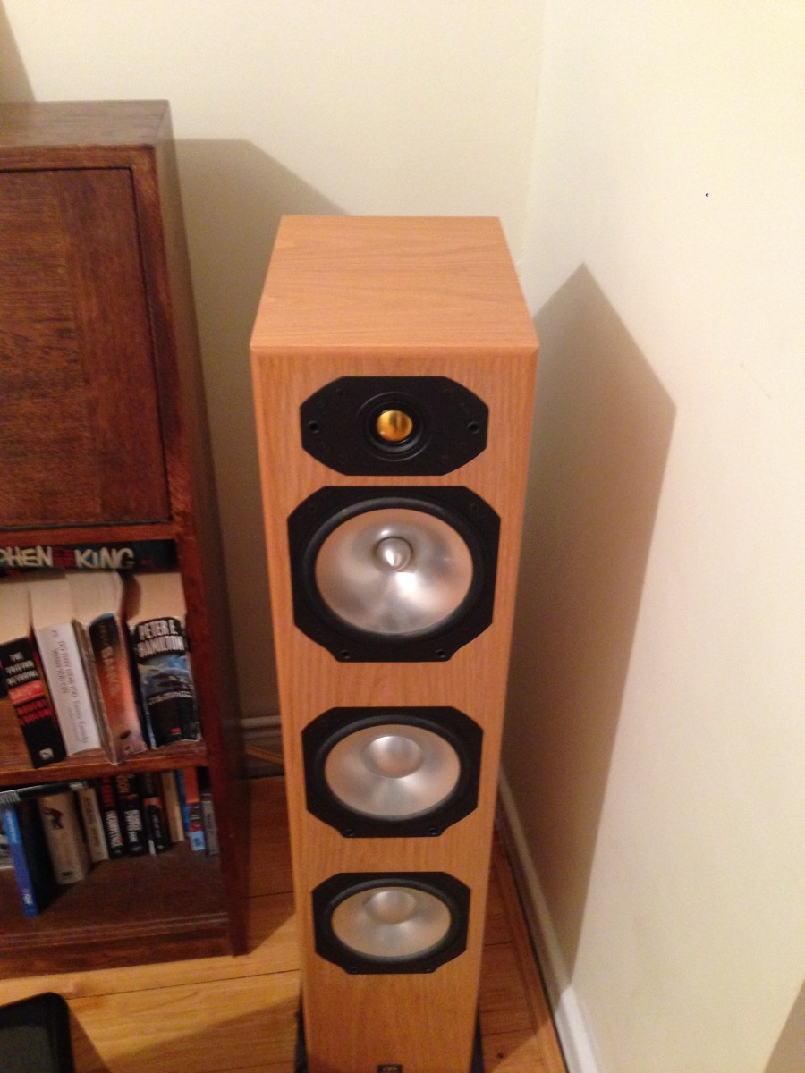 how to replace a tweeter driver on a monitor audio speaker hubpages. Black Bedroom Furniture Sets. Home Design Ideas