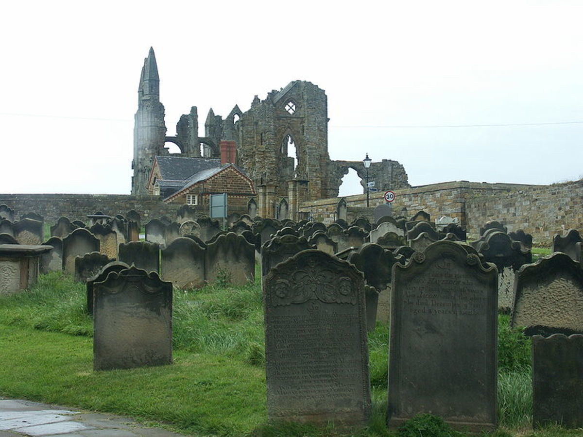 The Ghosts of Haunted Whitby