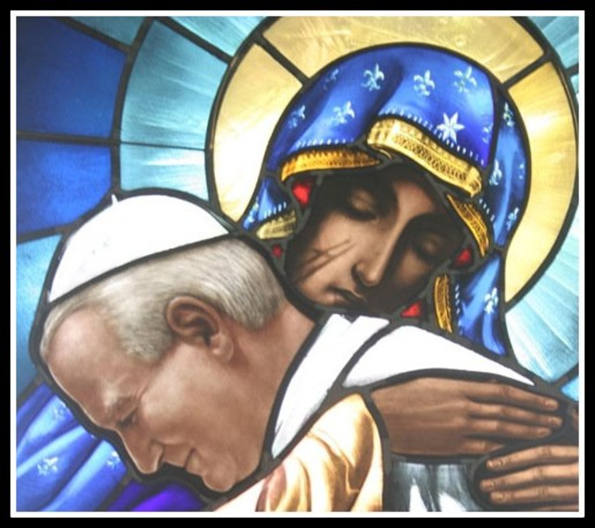 St. John Paul II reigned as pope of the Roman Catholic Church for almost 27 years.  He was formally beatified 1 May 2011 by Pope Benedict and canonized April 27, 2014 by Pope Francis.