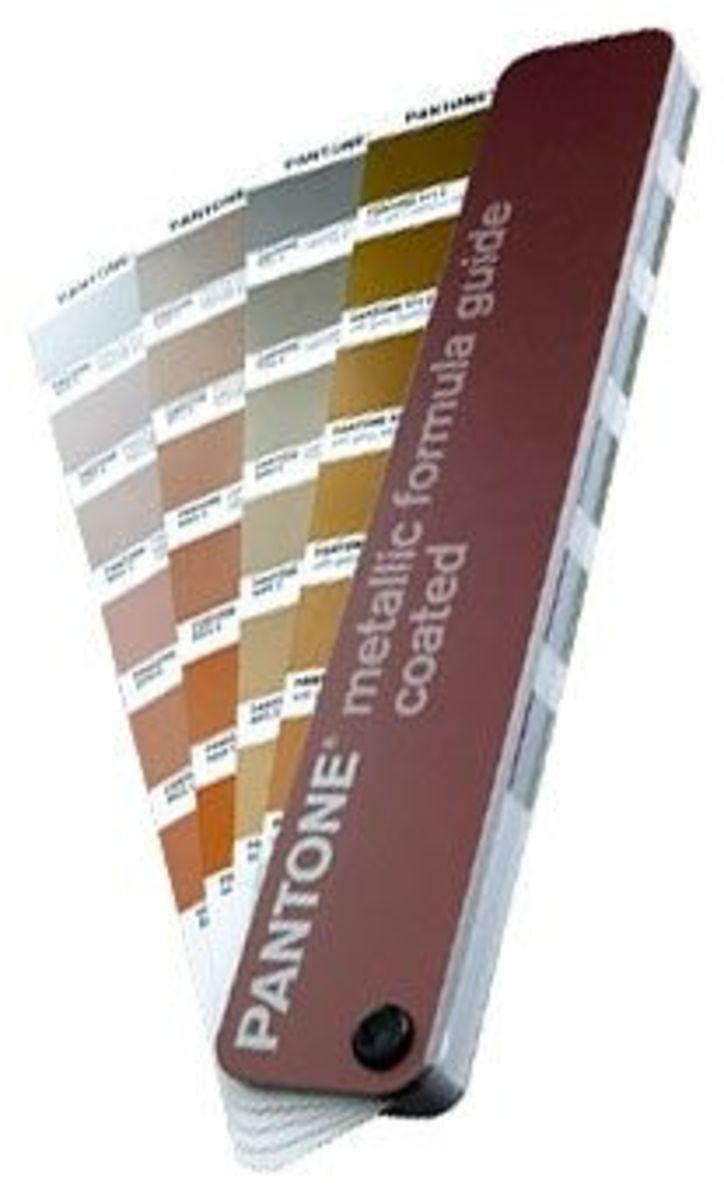 Pantone metallic
