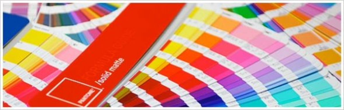 Pantone books fan out for on-the-spot color comparison
