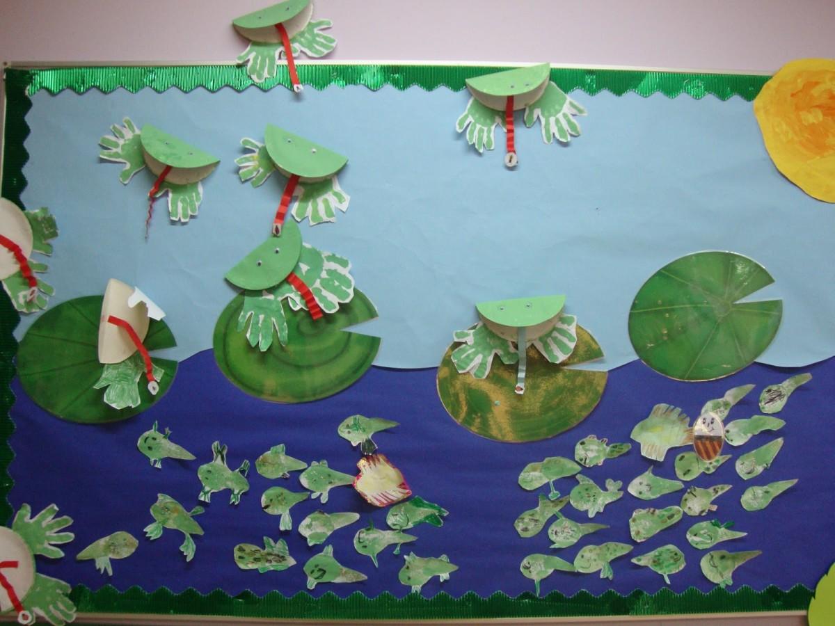 Frog Pond Bulletin Board