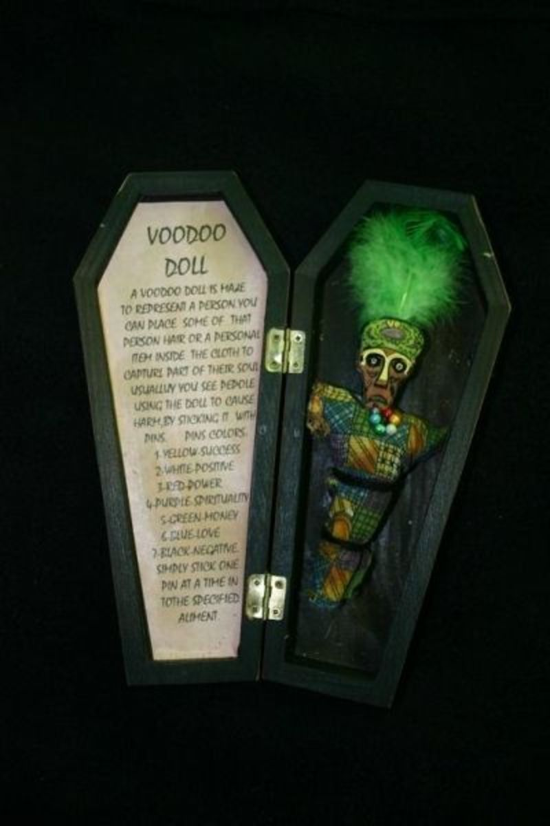 New Orleans Voodoo Doll