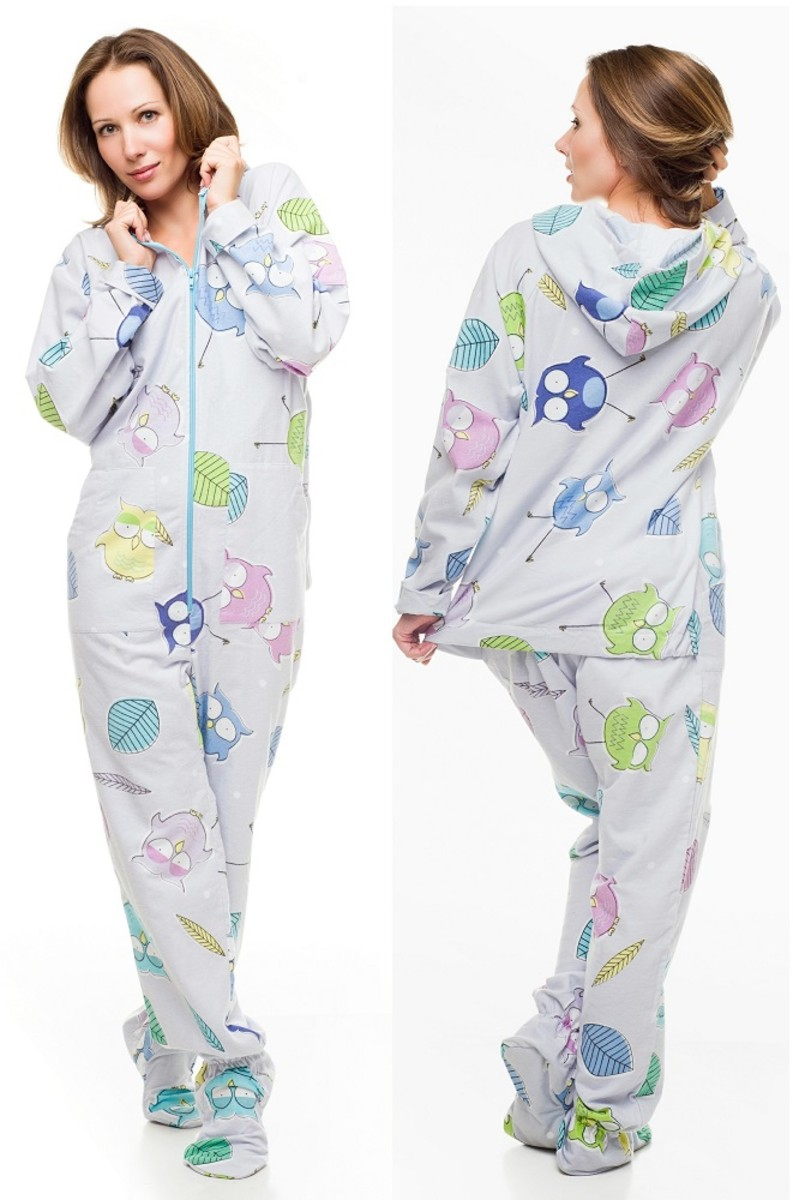Kajamaz Adult Footed Pajamas