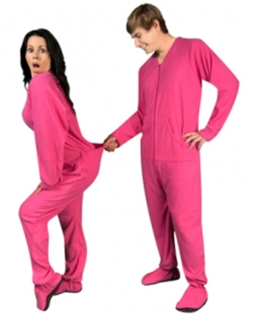 Adult Footed Pajamas From Around The World