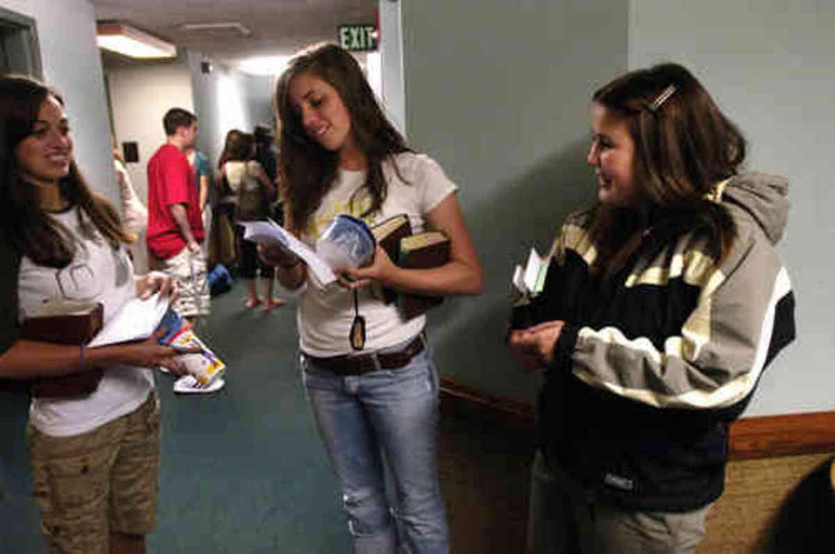 Religious instruction and socialization are both a part of the LDS Seminary program.