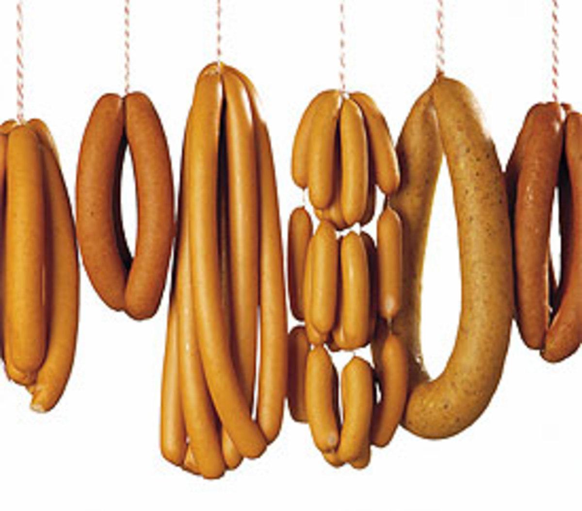 Sausages, like Schübling
