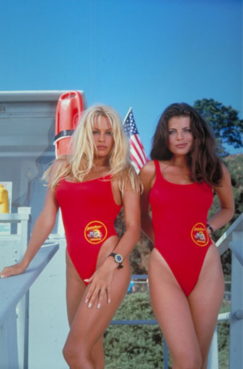 Baywatch Cast CJ