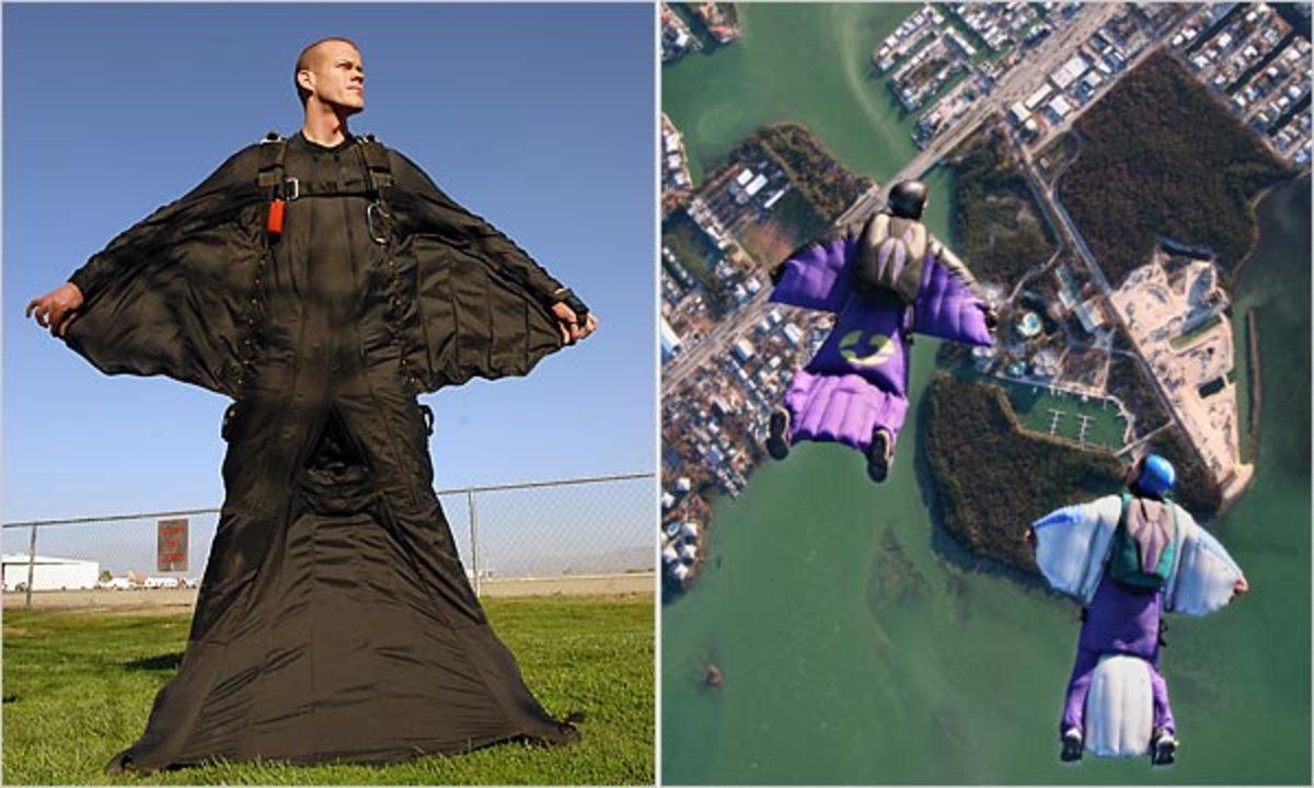 wing-suit