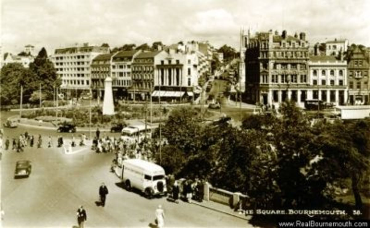 Bournemouth Square 1948