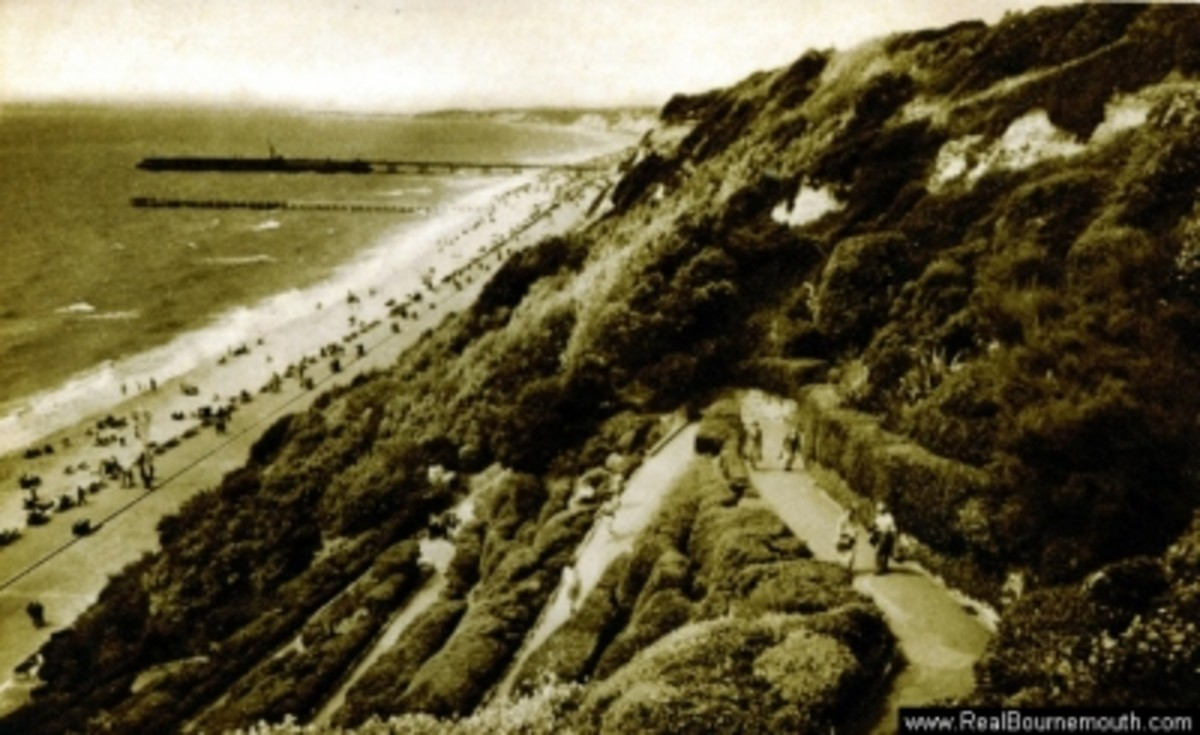 Bournemouth - East Cliff Zig Zag Path