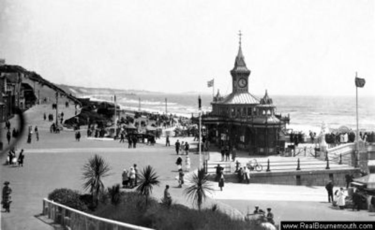 Bournemouth Pier Approach in 1910