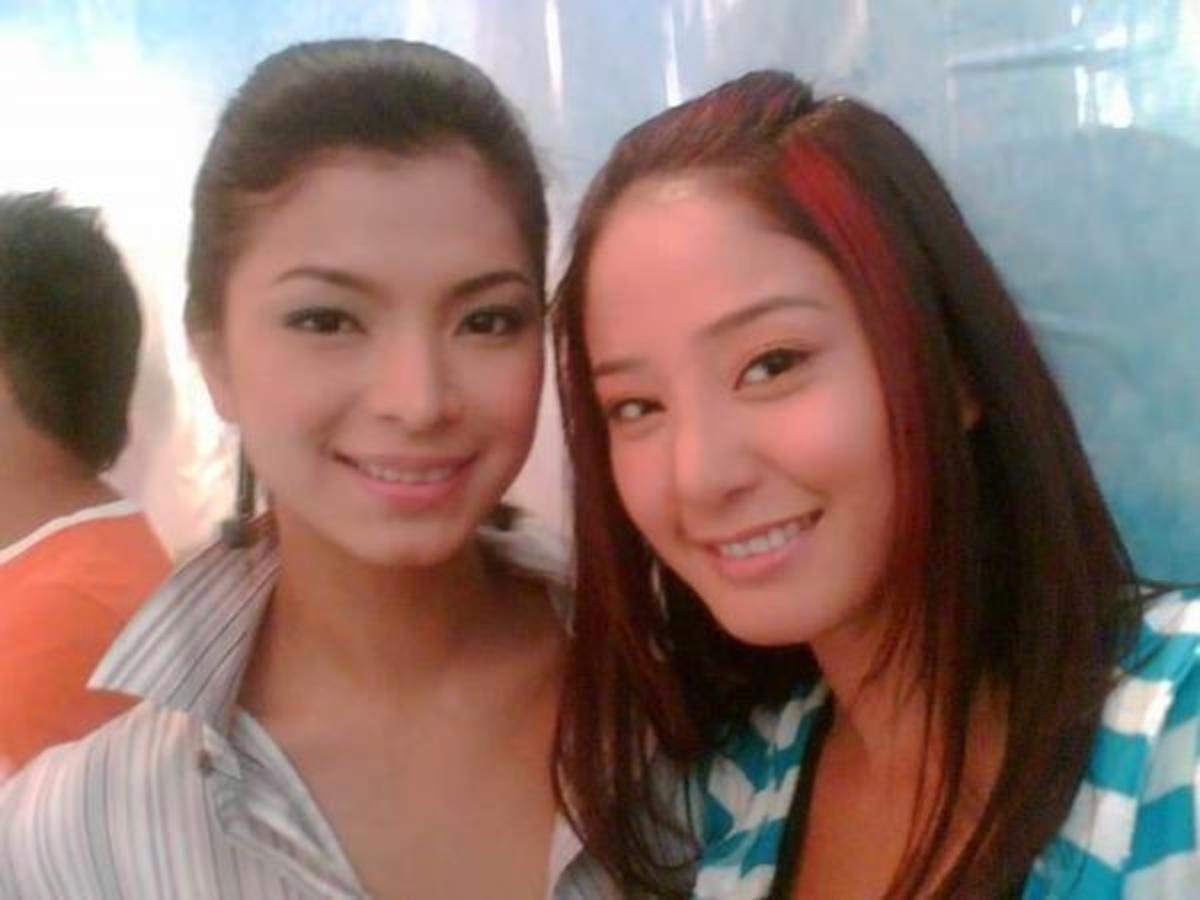 Angel Locsin with the equally sexy Katrina Halili