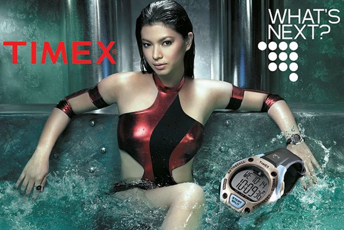 Angel Locsin for Timex