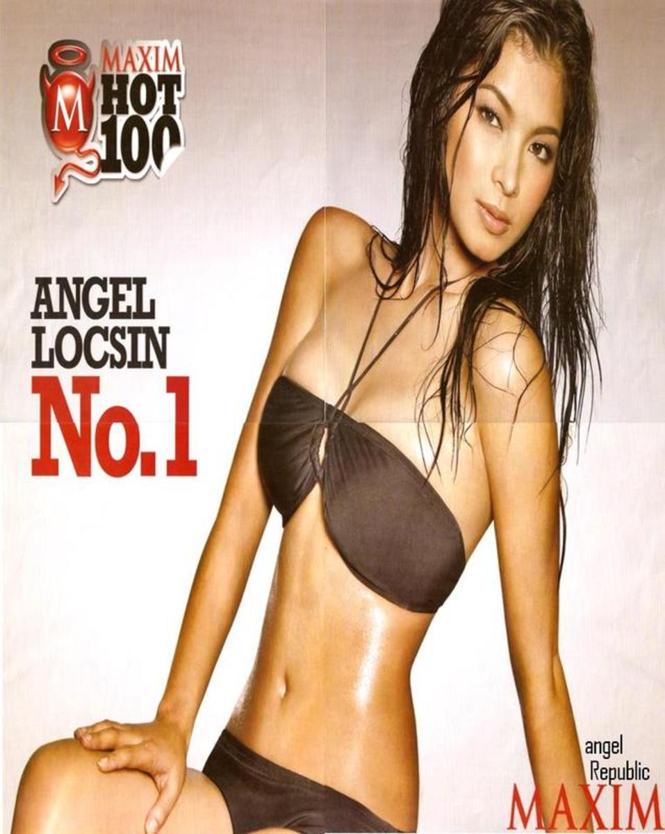 Angel Locsin is Maxim Philippines' Sexiest Woman for 2008