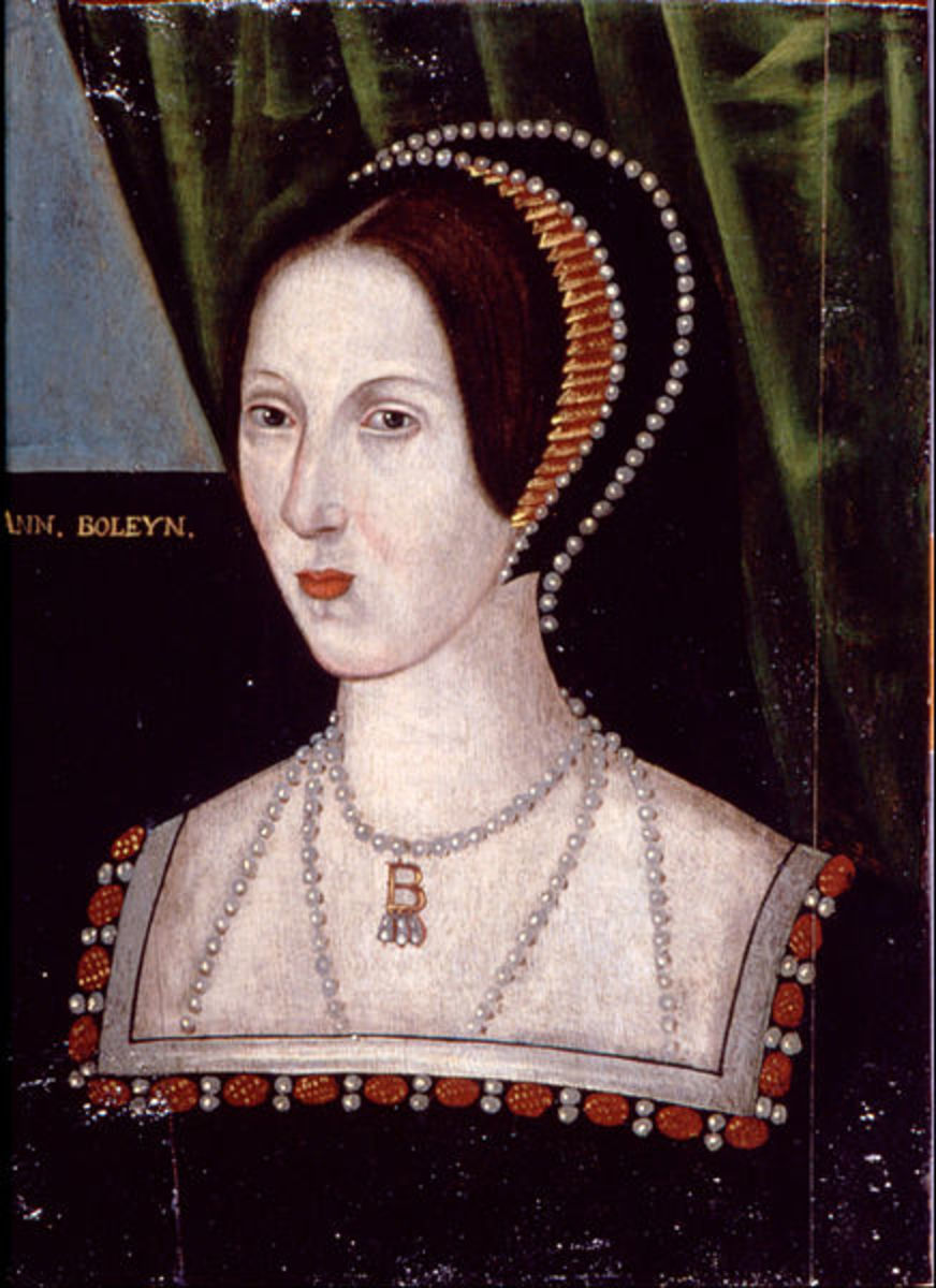 Anne Boleyn, wife of King Henry VIII, executed on Tower Green