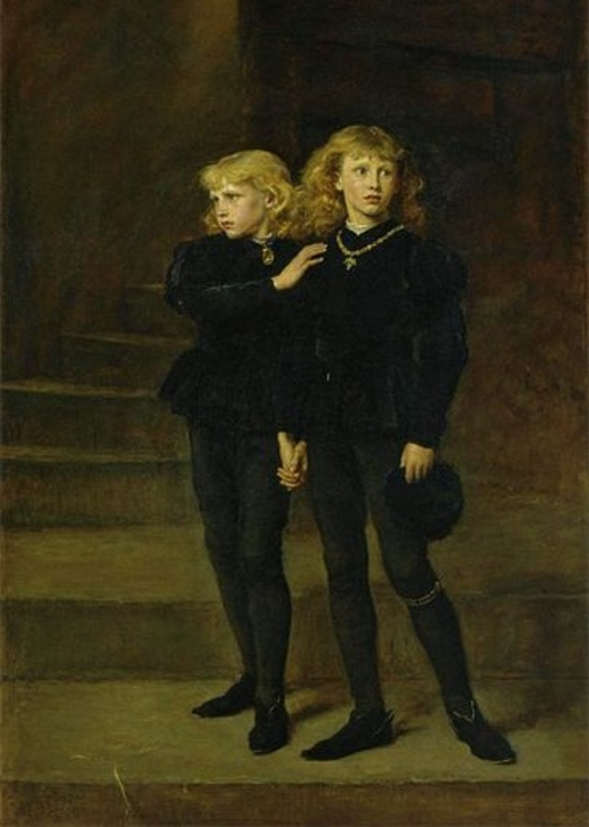 The Two Princes in the Tower who King Richard III was accused of murdering