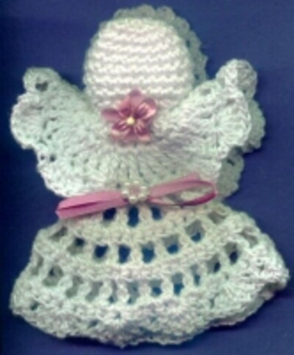Crochet Pattern Central Angels : Angel Crafts for Christmas