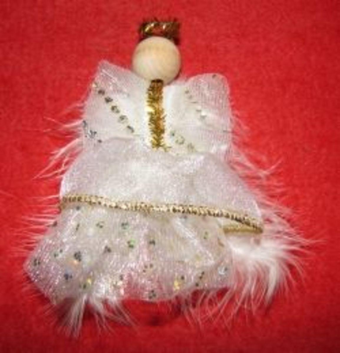 Small Angel Ornament