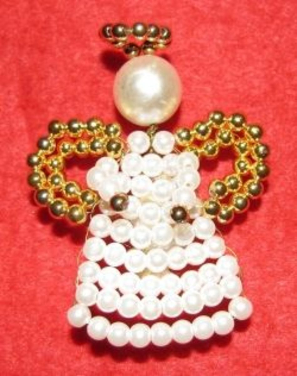 Angel Pearl Pin