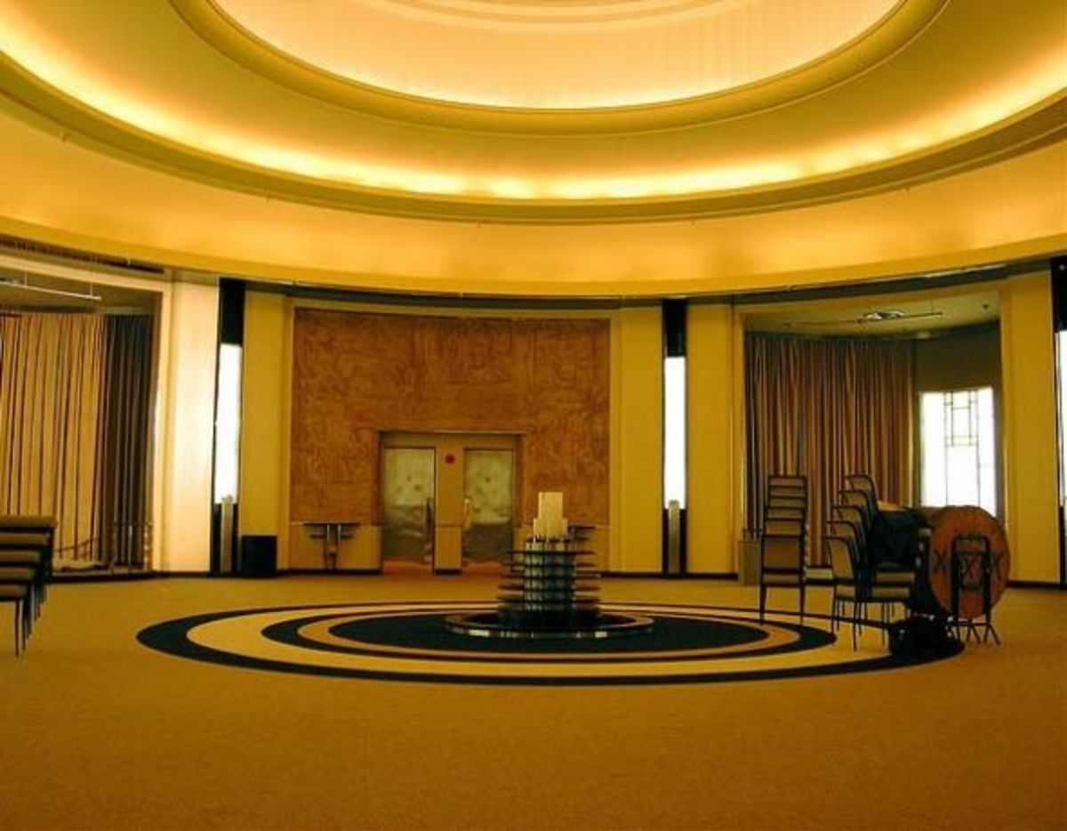 The Round Room in the Carlu (formerly Eaton's Seventh Floor) in Toronto, Canada