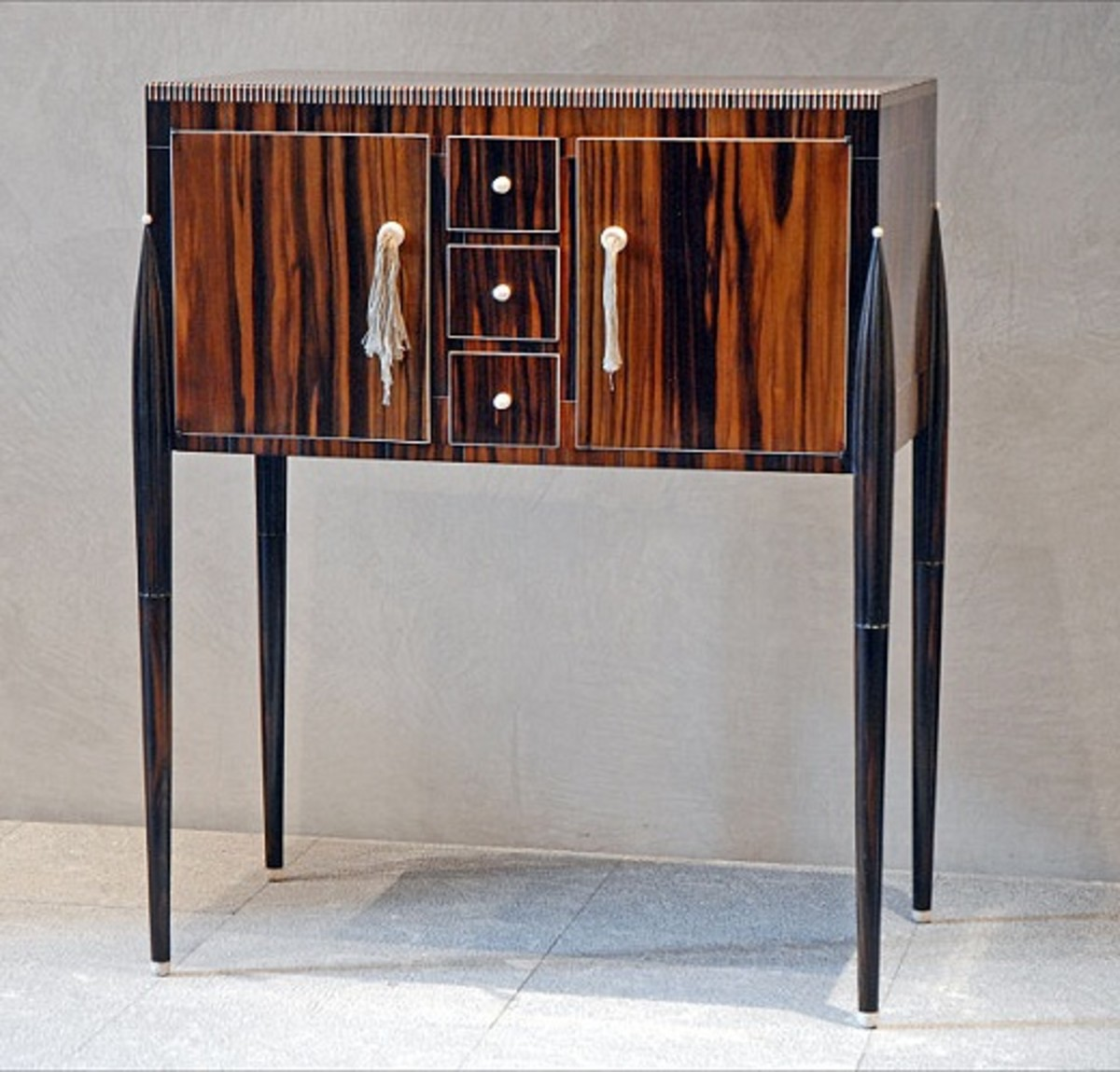 A cabinet by Jacques-Emile Ruhlmann in the Musée des Beaux-Arts de Lyon, France