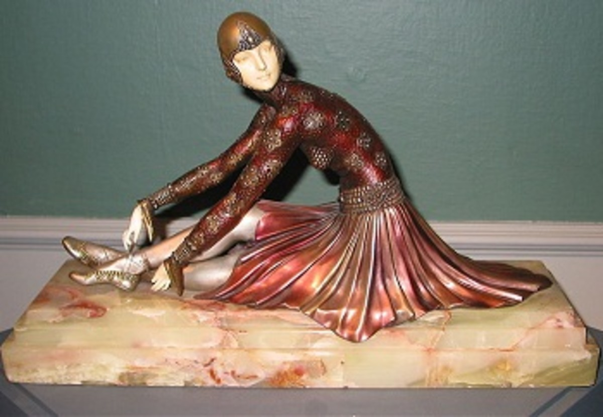 An Art Deco statuette by Demetre Chiparus