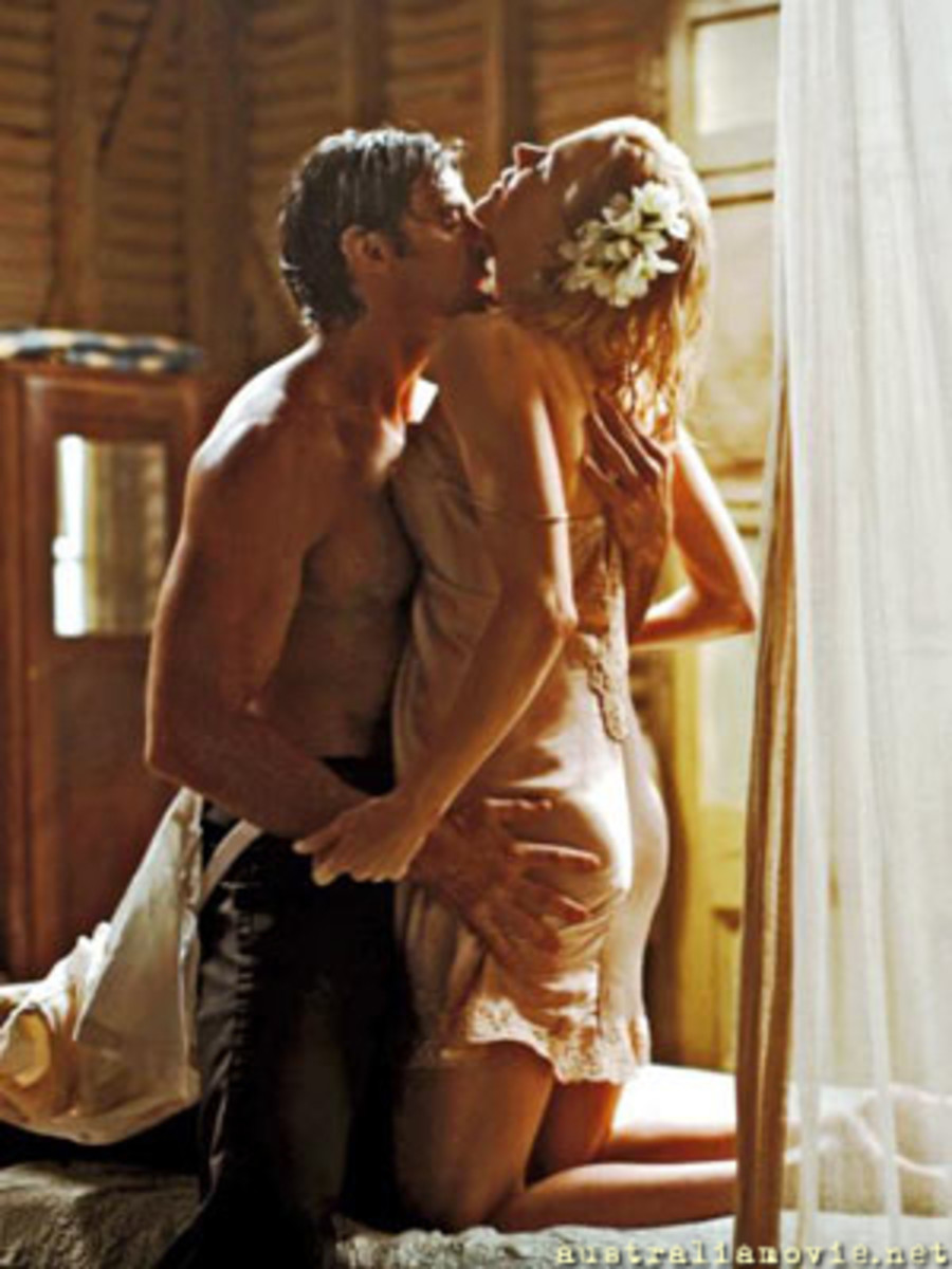 Nicole Kidman & Huge Jackman: get hot and wet