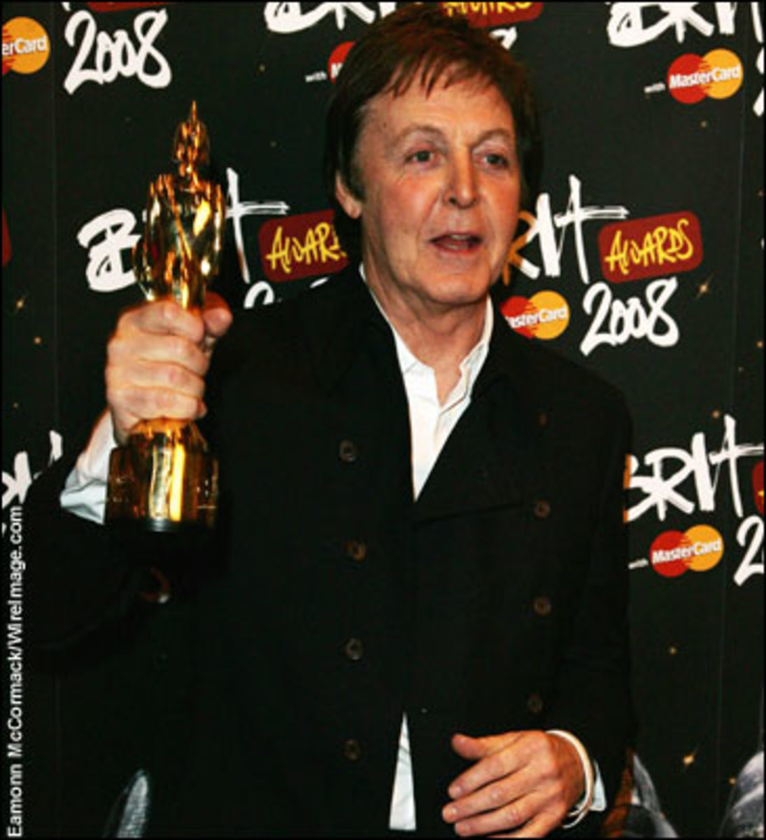 Paul McCartney today: still with moptop