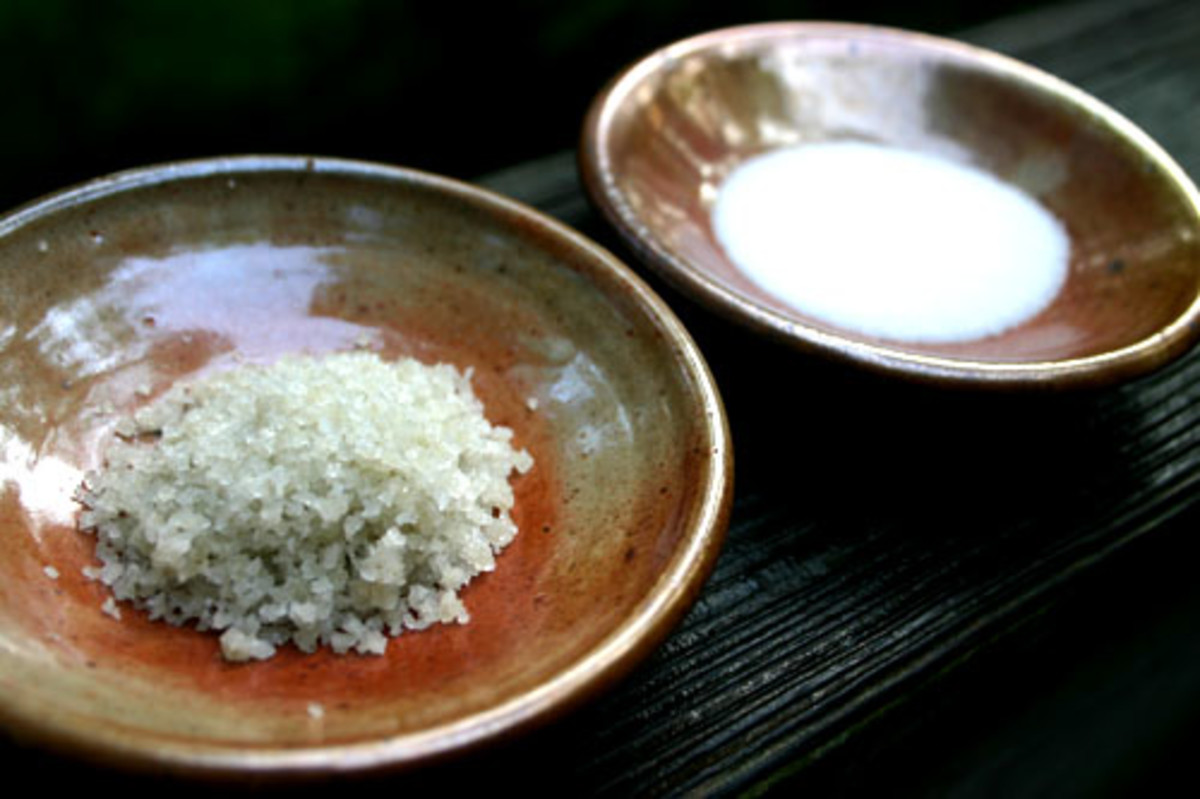 Bath Salt Ingredient Properties and Health Benefits