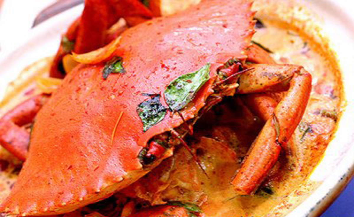 How to make Spicy Indian Crab Curry - Recipe
