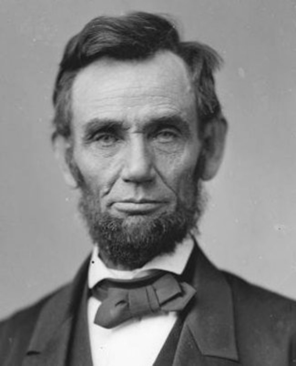 Look at that chiseled philtrum on Lincoln!