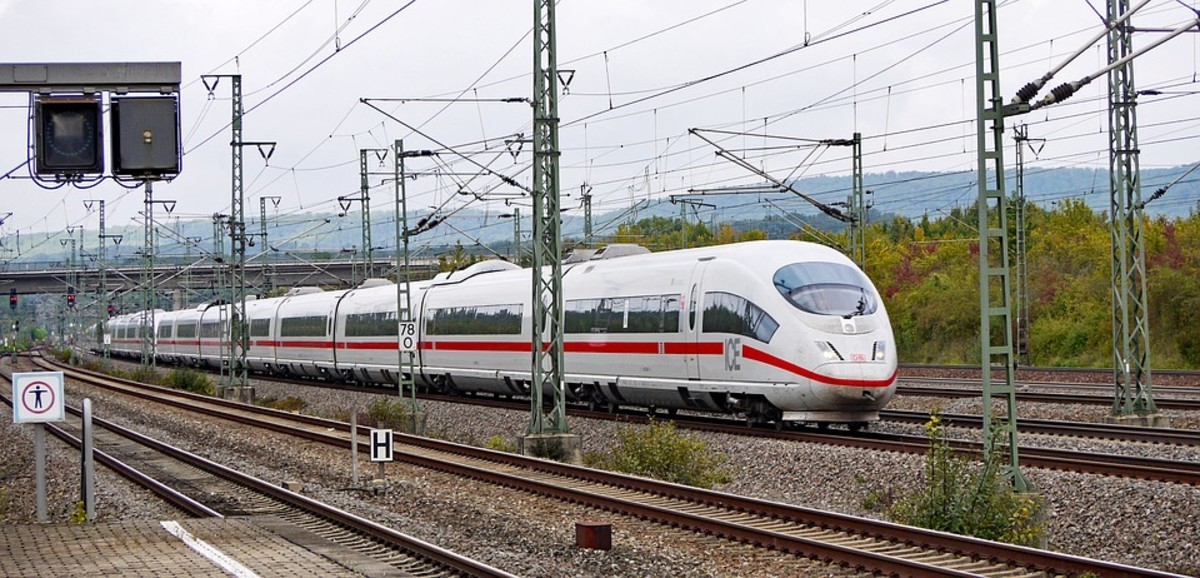High Speed Rail in Germany.