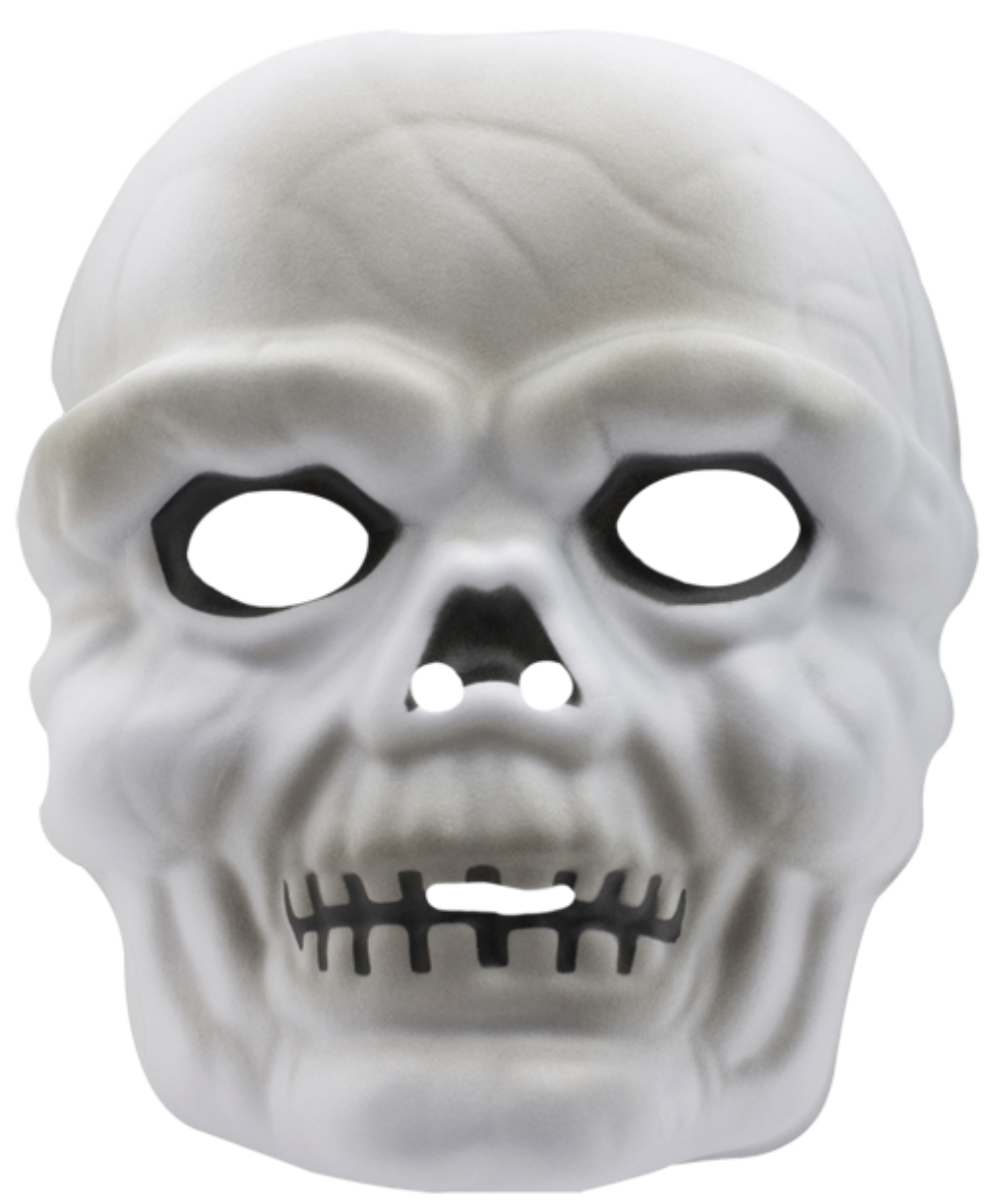 Three-dimensional skull mask
