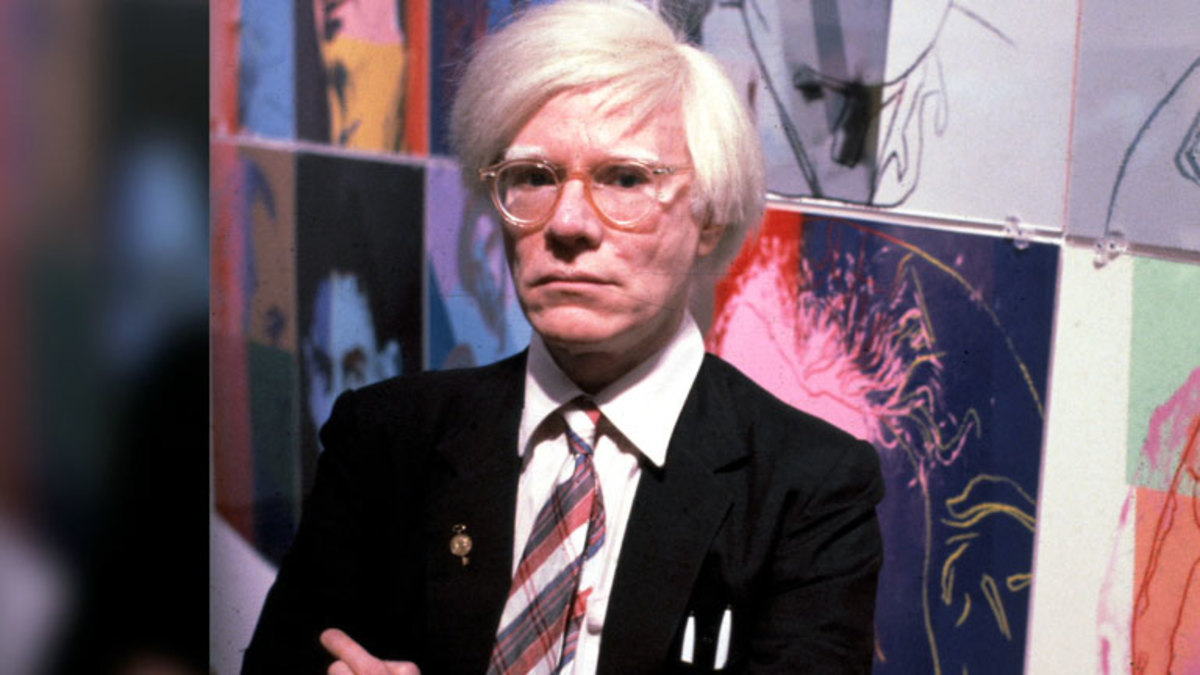 Andy Warhol Wanted to be Made of Plastic