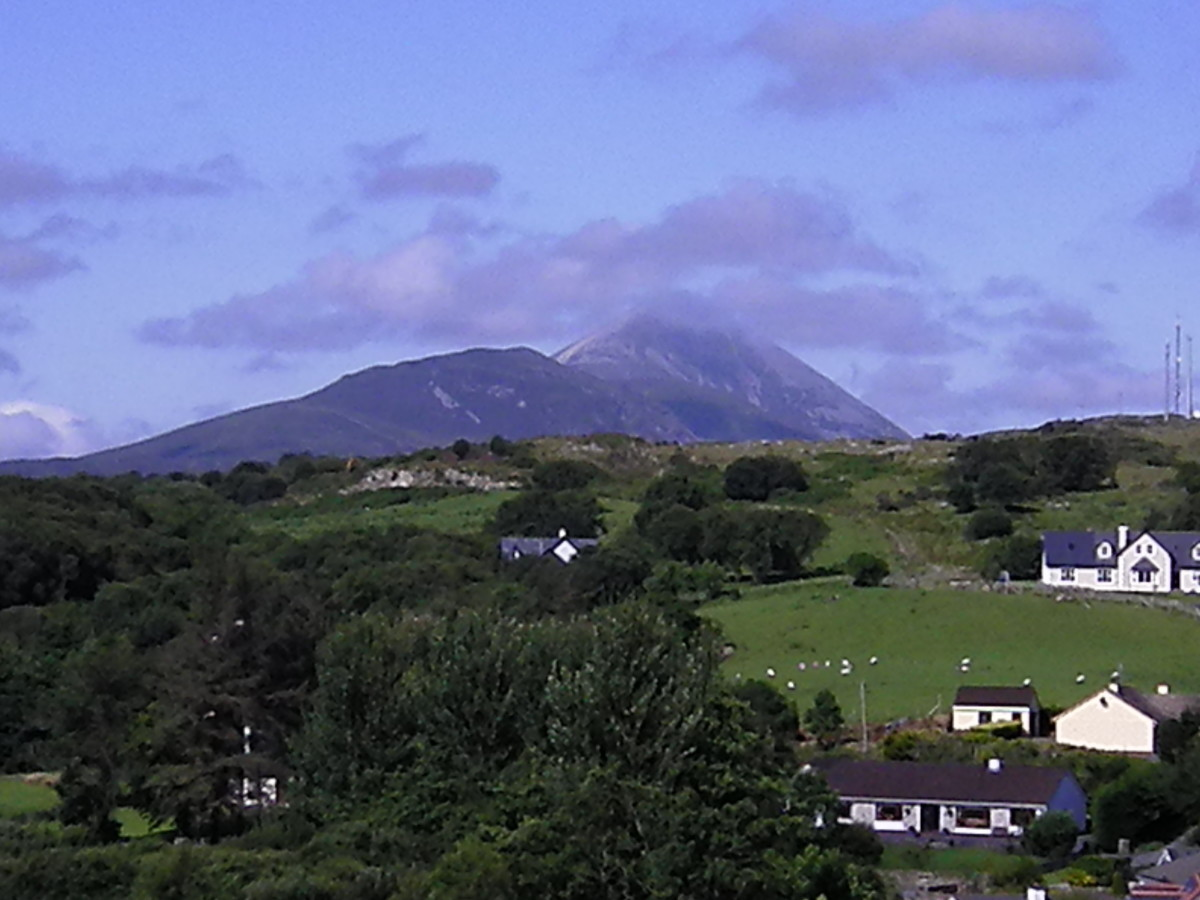 Croagh Patrick, July 2012 photographed by Amanda Severn