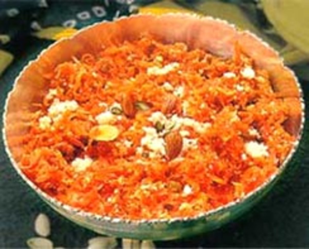 Diwali festival carrot halwa recipe