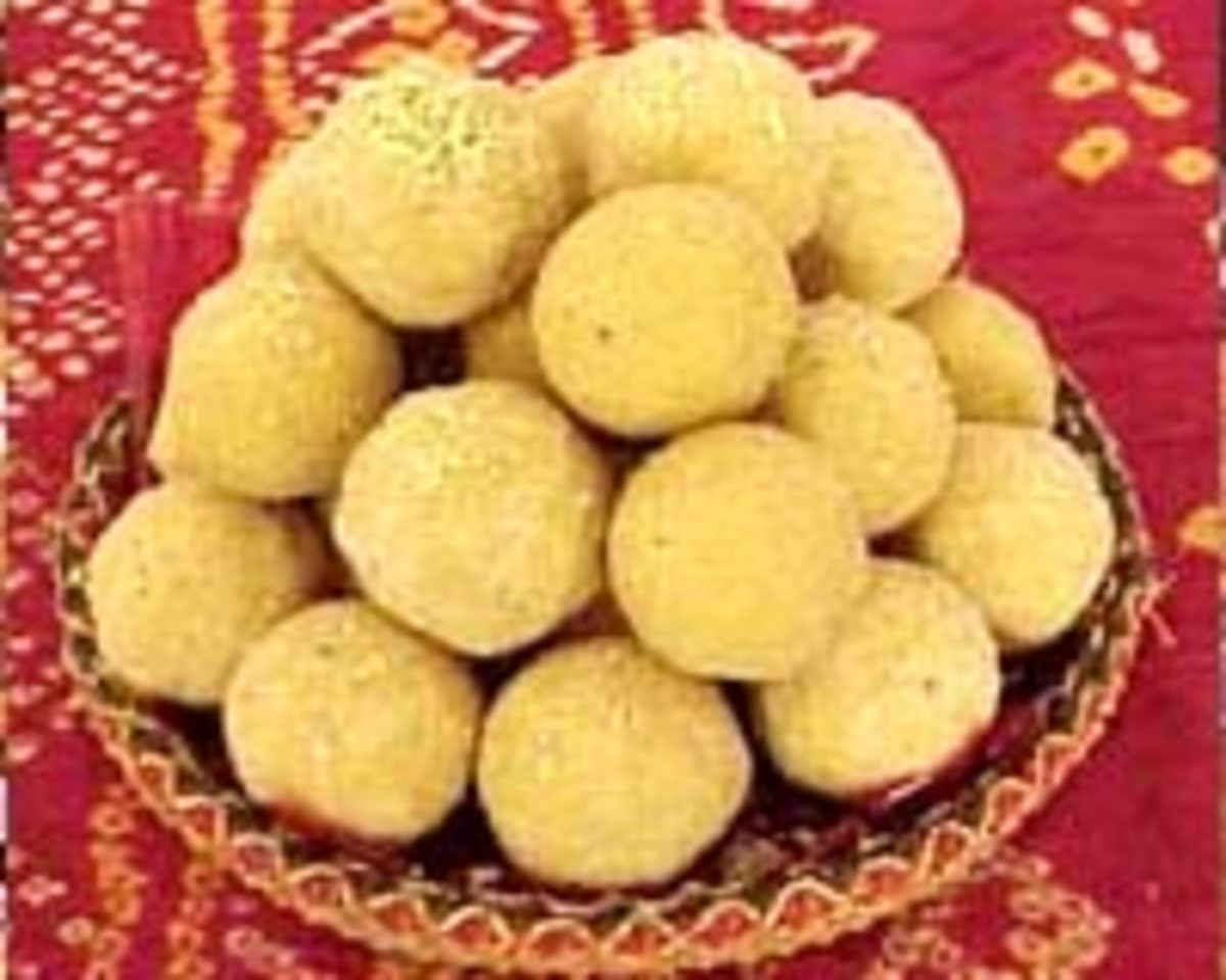 Diwali festival besan ka ladoo recipe