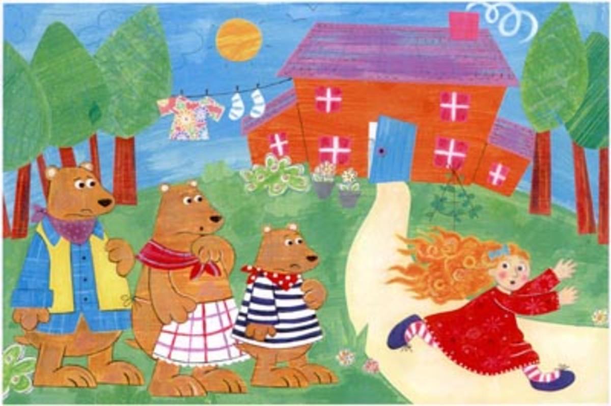 Goldilocks and the Three Bears: Preschool Music and Movement Story